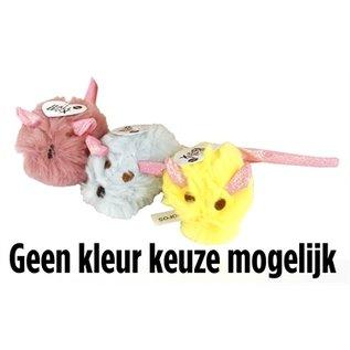 Fofos Fofos pluche muis met glitterstaart