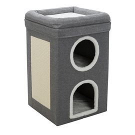 Trixie Trixie krabpaal cat tower saul grijs