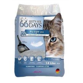 Merkloos 66 days cotton light kattenbakvulling