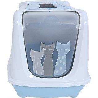 Moderna Moderna kattenbak trendy maasai lichtblauw / wit