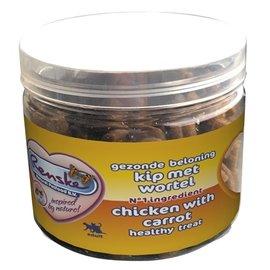 Renske Renske kat gezonde beloning mini hartjes kip / wortel