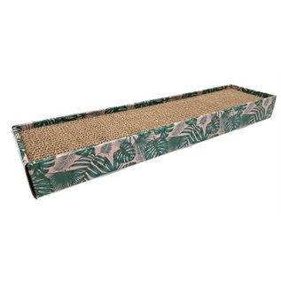 Croci Croci krabplank homedecor textuur bladeren groen