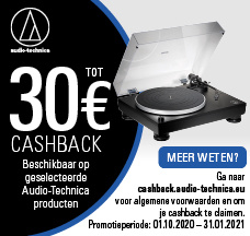 CASHBACK actie Audio-Technica