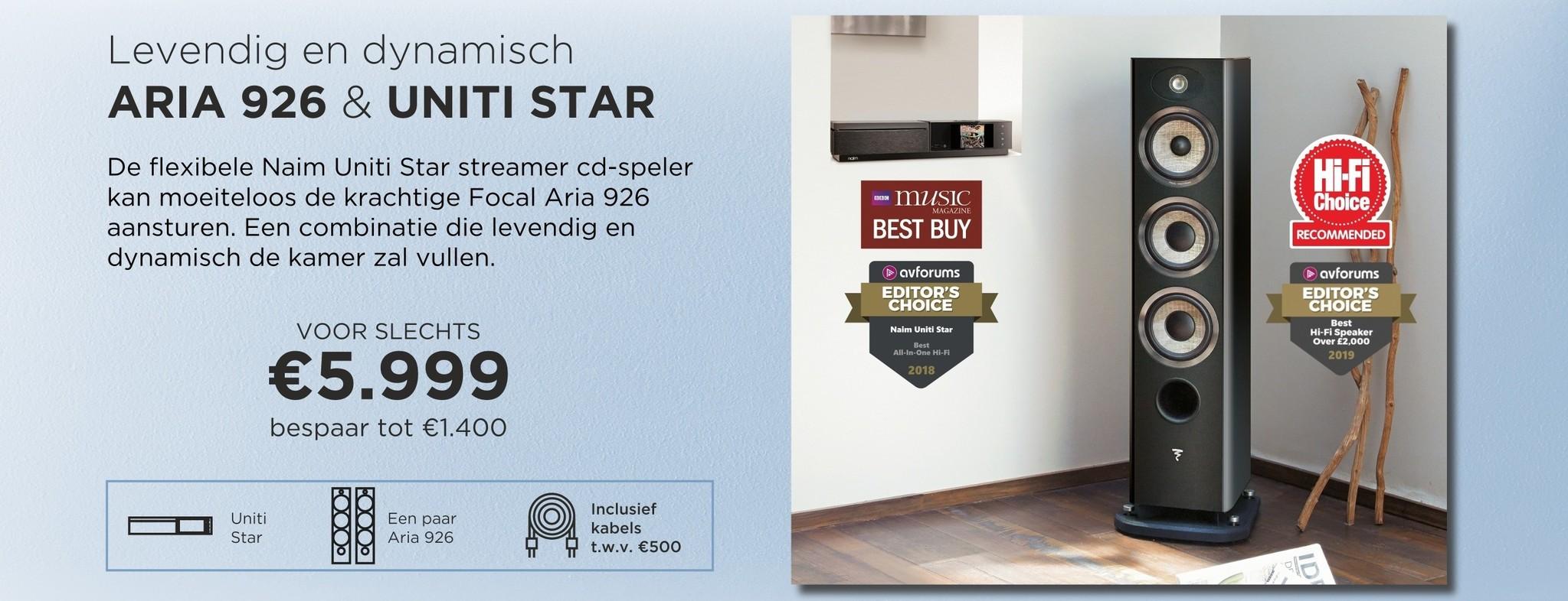 Aria 926 & Uniti Star
