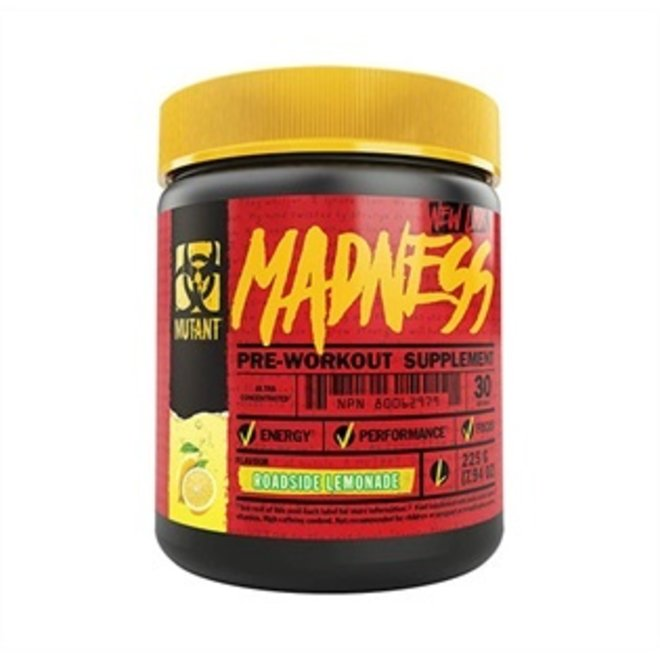 MUTANT MADNESS PRE WORK OUT