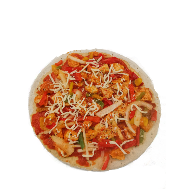 Pizza Tikka Masala (61,2 gram eiwit)