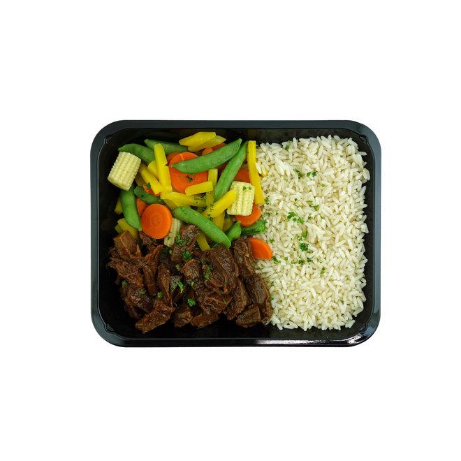 Beef Pepper-Rijst-Wokmix (3 stuks)