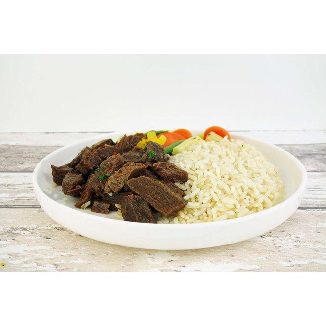 Beef-Rijst-Wokmix (per 3 stuks)