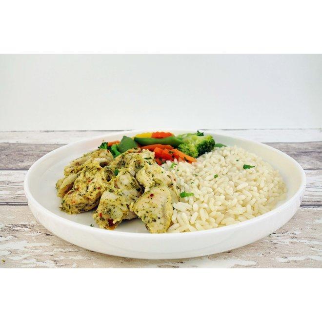 Kip-Rijst-Groentemix (per 3 stuks)