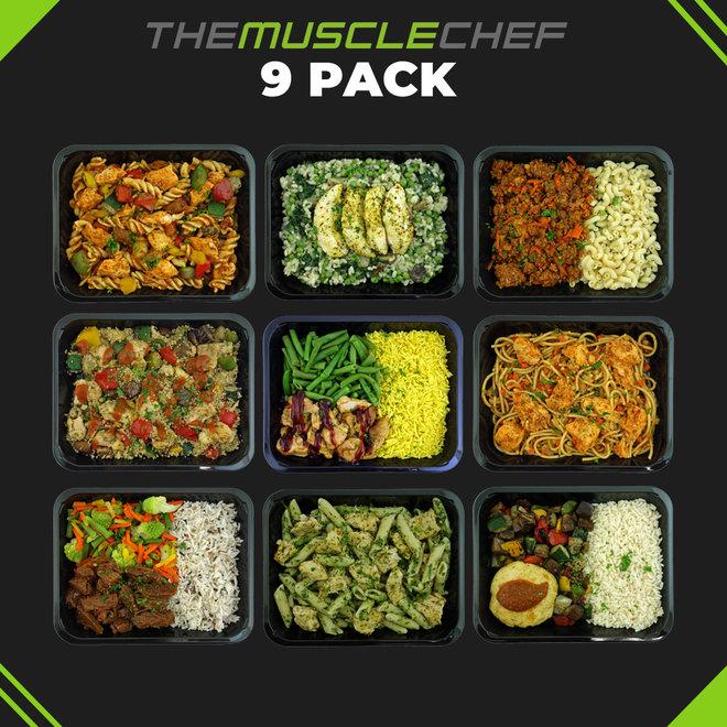 Droge Spiermassa ¨Combi Deal 5¨ (maaltijdpakket 9 smaakvariaties)