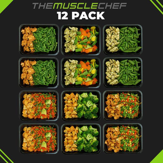 Combi Deal 4¨ (maaltijdpakket 6  smaakvariaties)