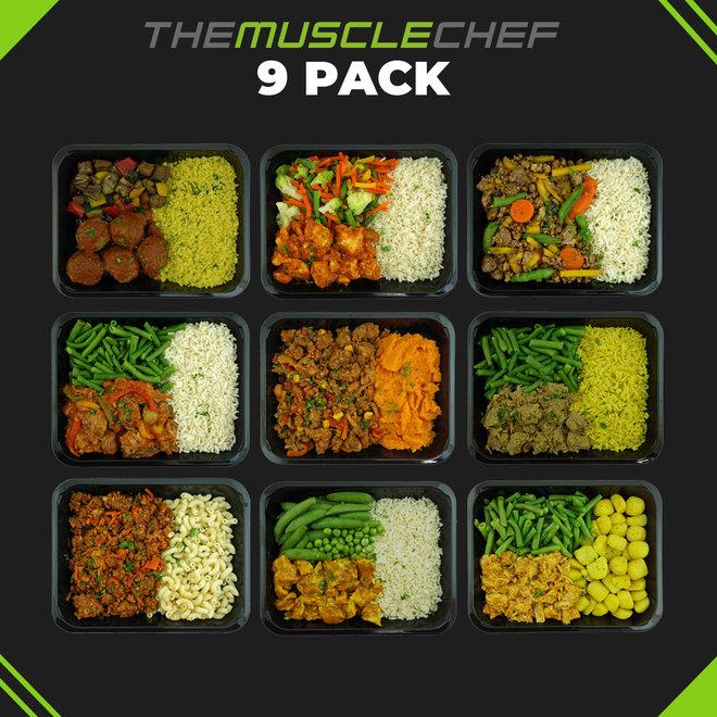 Droge Spiermassa ¨Combi Deal 7¨ (maaltijdpakket 9 smaakvariaties)