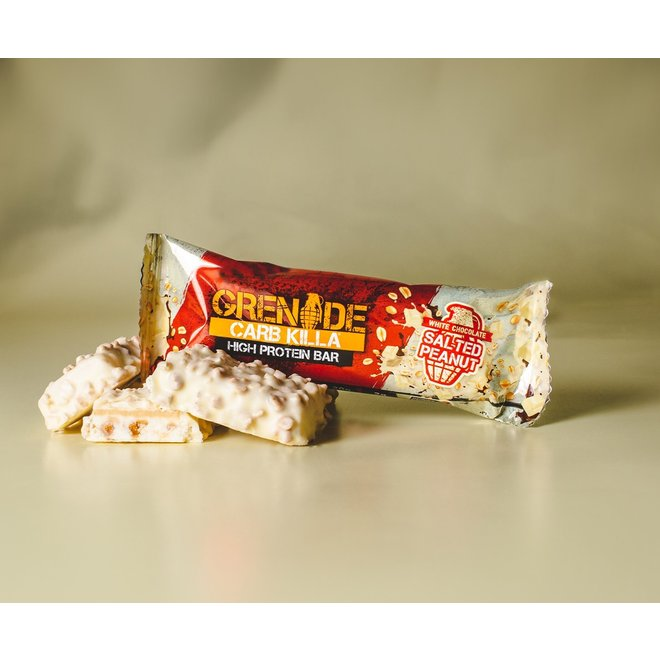 CARB KILLA BAR WHITE CHOCOLATE CHIP SALTED PEANUT