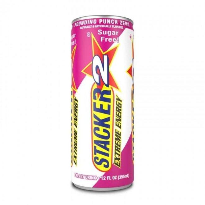 STACKER 2 ENERGY DRINK FRUIT PUNCH ZERO CALORIE