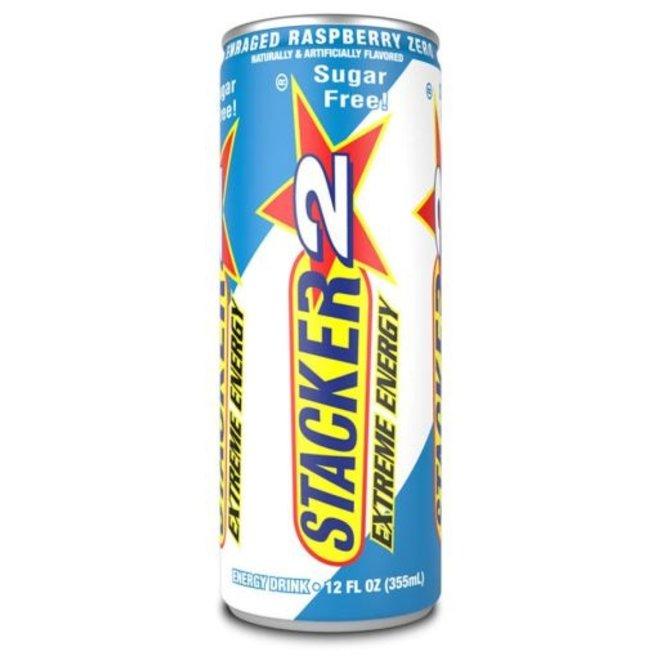 STACKER 2 ENERGY DRINK RASPBERRY ZERO CALORIE