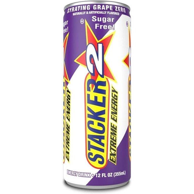 STACKER 2 ENERGY DRINK GRAPE ZERO CALORIE