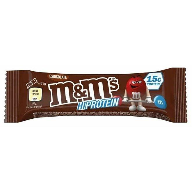 M&M HIGH PROTEIN CHOCOLATE BAR