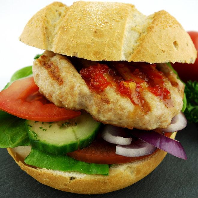 Kipburger (kant en klaar 3x110 gram)