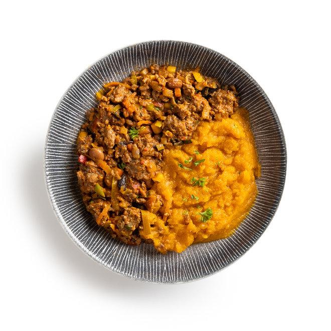 Runder Chili-Zoete Aardappelpuree (v.a.€6,26)