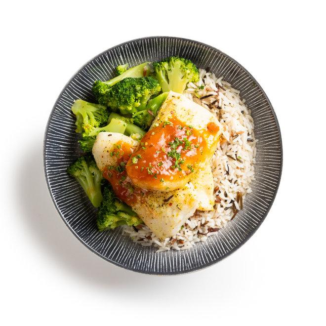 Pangafilet-Meergranenrijst-Broccoli (v.a.€7,43)