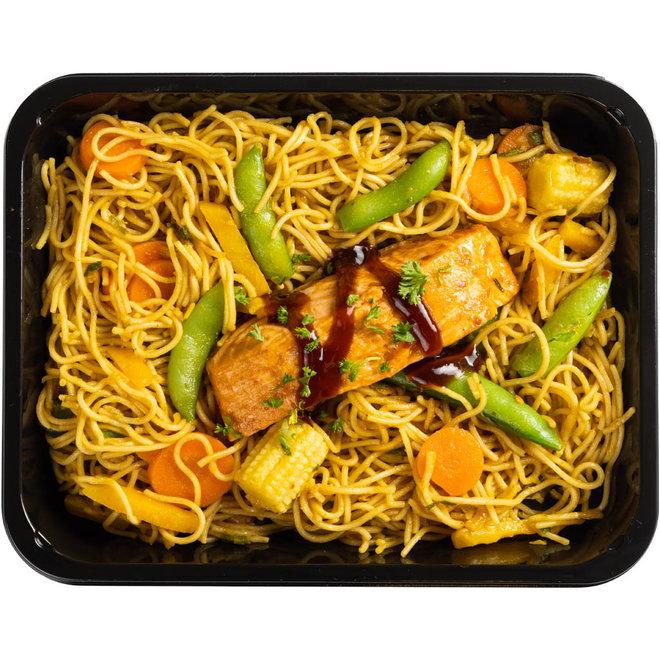 Teriyake Zalm - Noodles - Wokmix (v.a.€8,78)