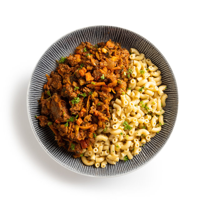 Macaroni-Italian Beef  (v.a.€7,52)