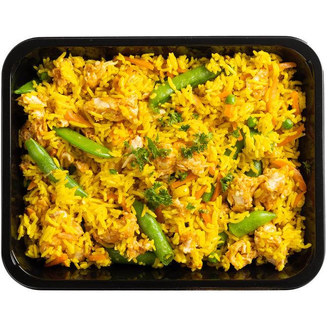 Nasi Kuning met Kip (Nieuw)