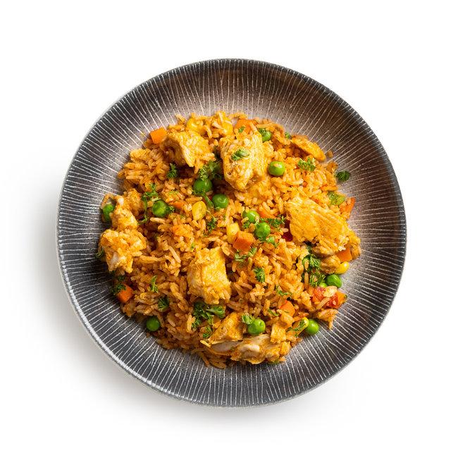 Mexicaanse Rijstschotel met Kip (Nieuw)