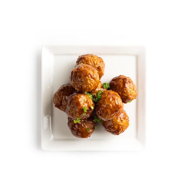 Kipballetjes Sweet & Spicy (kant en klaar 5 stuks)