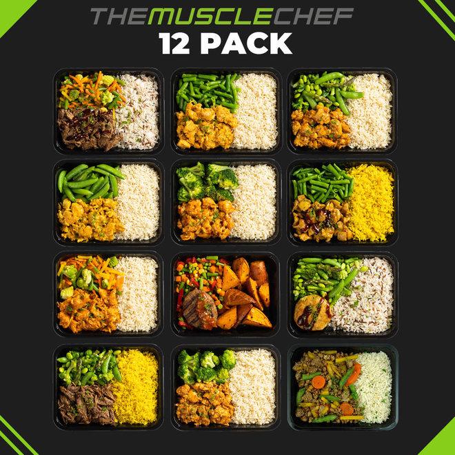 Droge Spiermassa  Combi Deal 3 (maaltijdpakket 12 smaakvariaties)