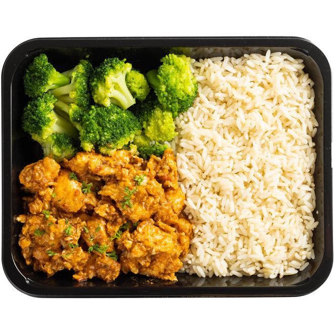 Secret Spice Chicken-Rijst-Broccoli (v.a.€5,58)