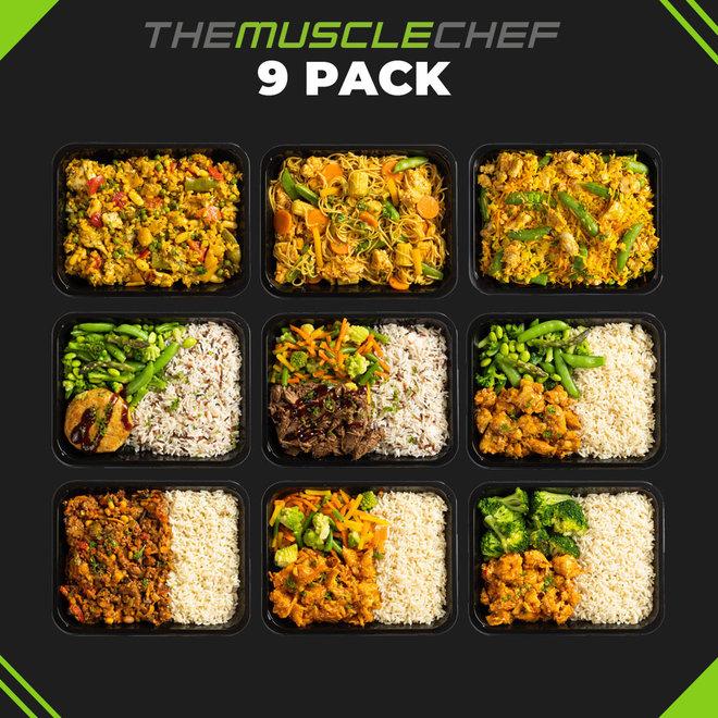 Spiermassa Combi Deal 5  (maaltijdpakket 9 smaakvariaties)