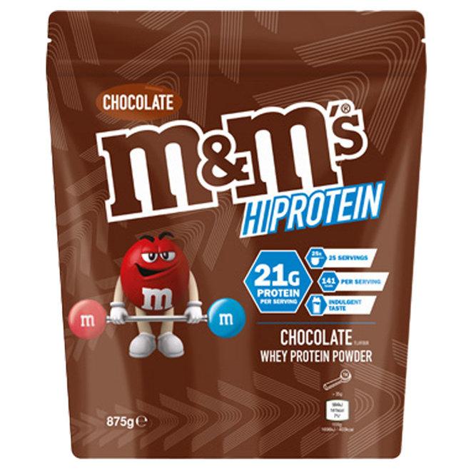 M&M HI Protein Powder Chocolate