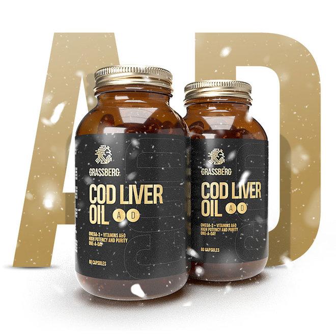 Cod Liver Oil (60 tabs)