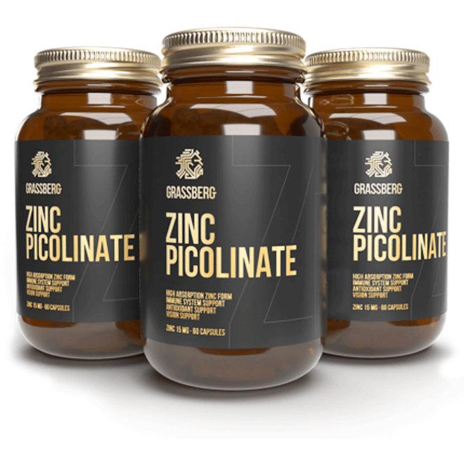 Zink Picolinate (60 Caps)