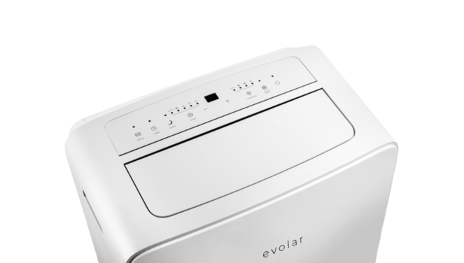 Evolar EVO-34HC- 3,4kW - Mobiele Airco - 12000BTU