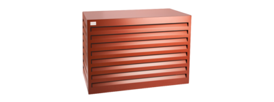 Evolar Evo-cover small steenrood airco buitenunit omkasting 700 X 1000 X 500 MM