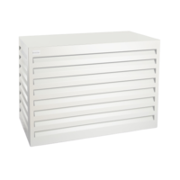 Evolar Evolar Evo-cover small wit airco buitenunit omkasting 700 X 1000 X 500 MM