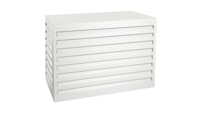 Evolar Evo-cover airco buitenunit omkasting - Wit - Small 700 x 1000 x 500 MM