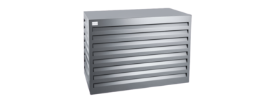 Evolar Evo-cover small antraciet airco buitenunit omkasting 700 X 1000 X 500 MM