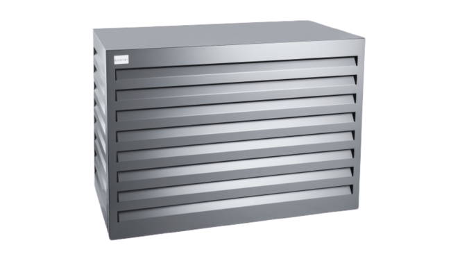 Evolar Evo-cover airco buitenunit omkasting - Antraciet - Small 700 x 1000 x 500 MM