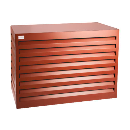 Evolar Evolar Evo-cover medium steenrood airco buitenunit omkasting 800 X 1100 X 550 MM