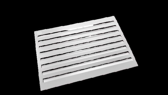 Evolar Backcover voor Airco Omkasting - Wit - Uitbreiding Medium 800 x 1100 MM
