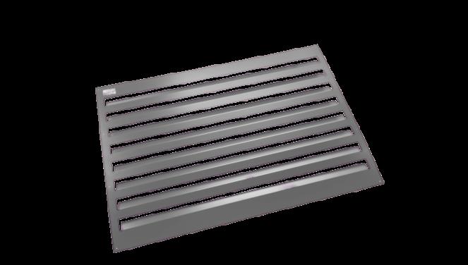 Evolar Backcover vrijstaand medium antraciet airco buitenunit omkasting 800 X 1100 MM