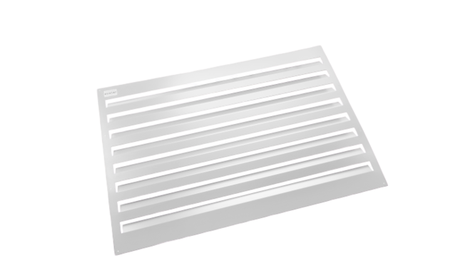 Evolar Backcover voor Airco Omkasting - Wit - Uitbreiding Large 1100 x 1200 MM