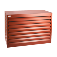 Evolar Evo-cover large steenrood airco buitenunit omkasting 1100 X 1200 X 650 MM