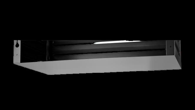 Evolar Bottom Panel voor Airco Omkasting - Zwart - Uitbreiding Small 500 x 1000 MM