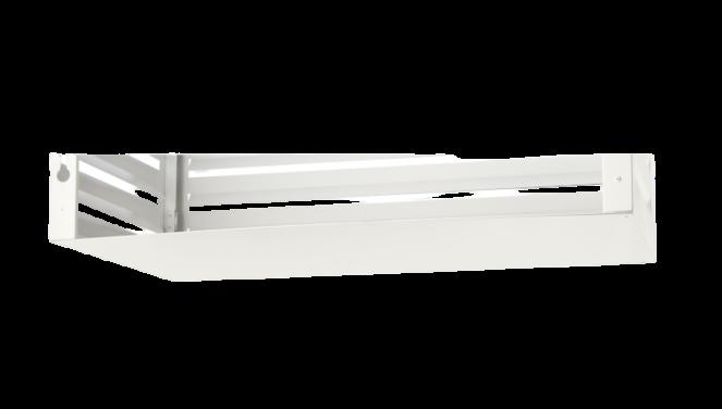 Evolar Bottom Panel voor Airco Omkasting - Wit - Uitbreiding Small 500 x 1000 MM