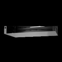 Evolar Bottom Panel voor Airco Omkasting - Zwart - Uitbreiding Medium 550 x 1100 MM