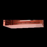 Evolar Bottom Panel voor Airco Omkasting - Steenrood - Uitbreiding Medium 550 x 1100 MM